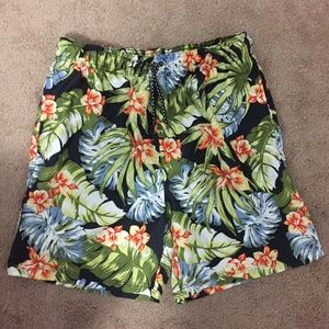 Other - Men's Floral Swimshorts